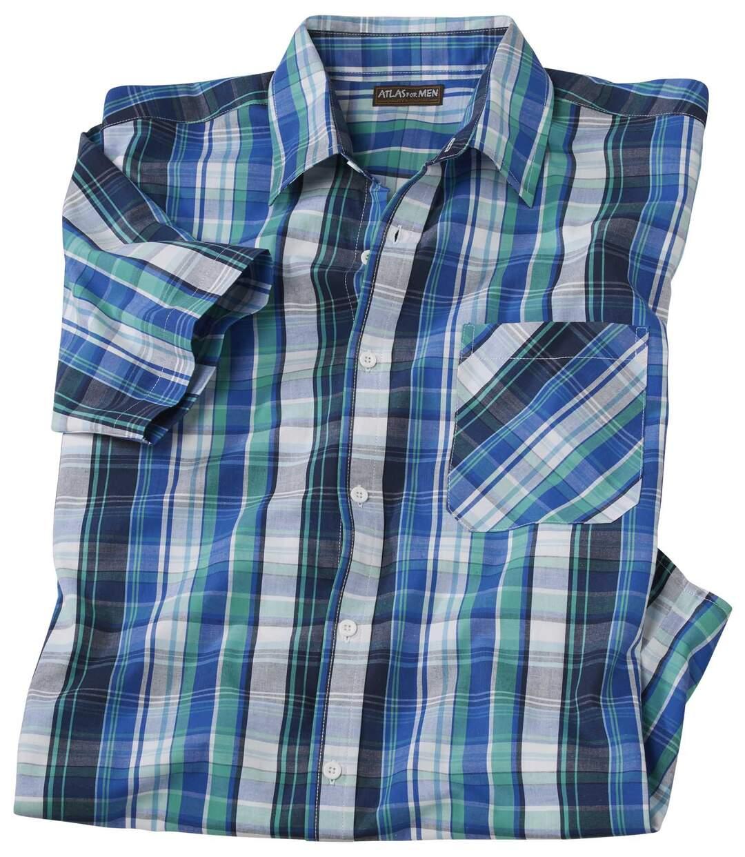 Рубашка в Клетку из Поплина