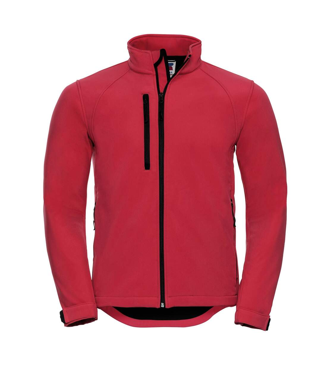Russell Mens Water Resistant & Windproof Softshell Jacket (Classic Red) - UTBC562