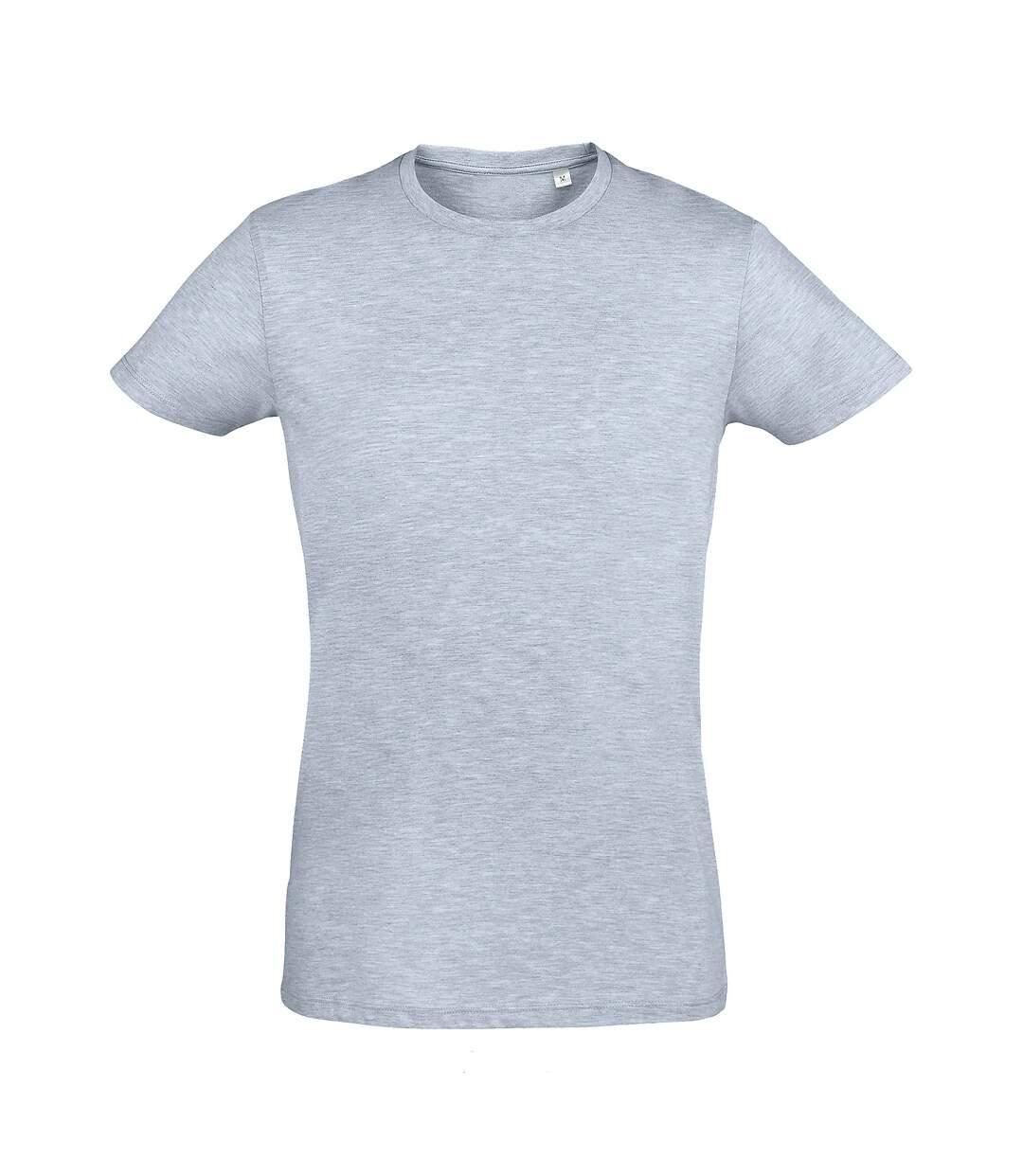 SOLS - T-shirt REGENT - Homme (Bleu ciel chiné) - UTPC506