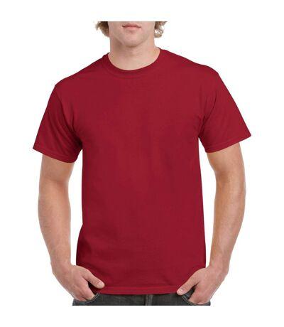 Gildan Mens Heavy Cotton Short Sleeve T-Shirt (Pack Of 5) (White) - UTBC4807