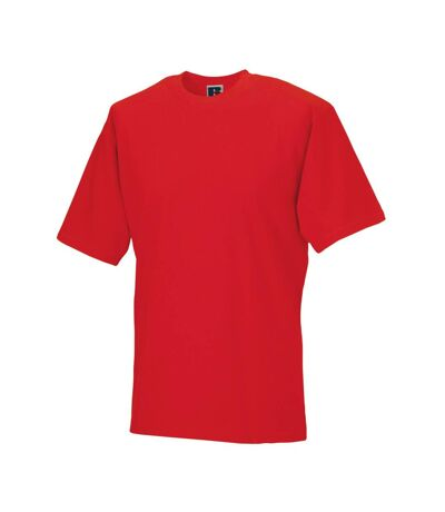 Jerzees Colours Mens Classic Short Sleeve T-Shirt (Bright Red) - UTBC577