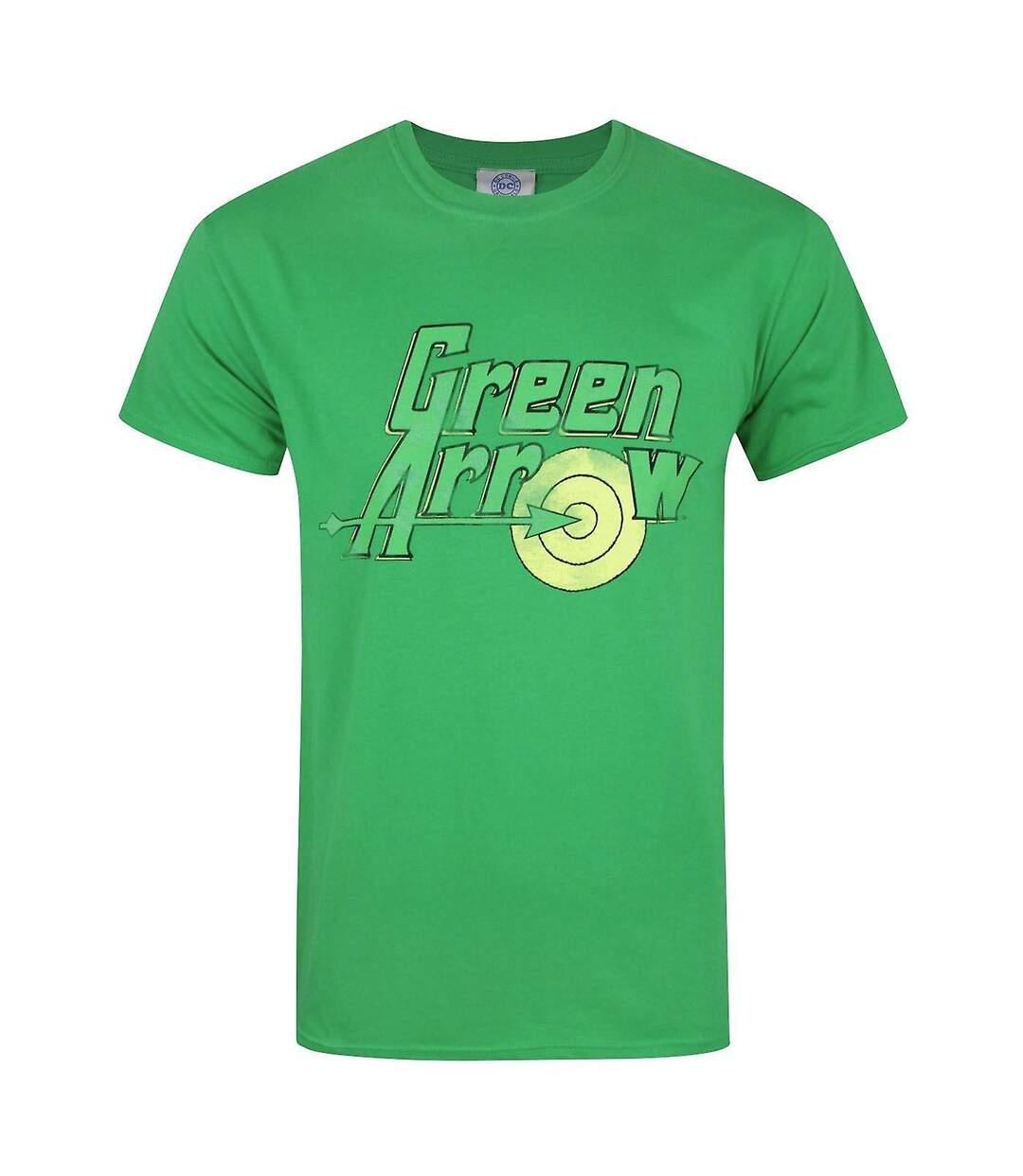 Green Arrow Mens Logo T-Shirt (Green) - UTNS5295
