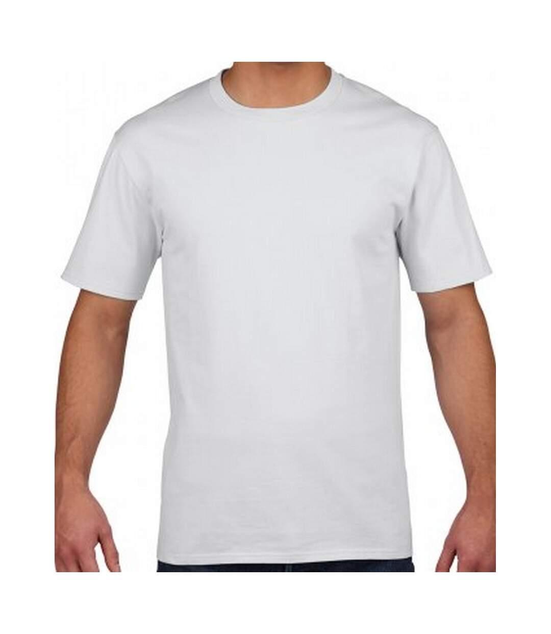 Gildan Mens Premium Cotton T-Shirt (White) - UTPC3231