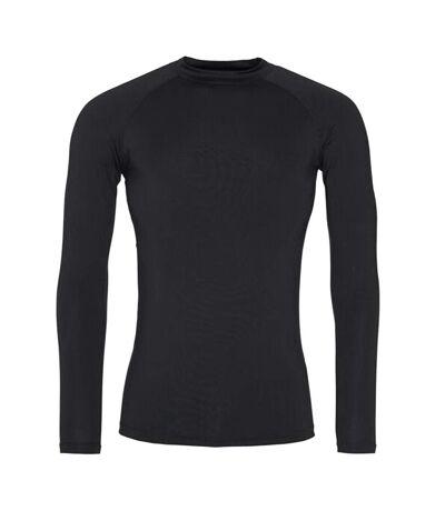 AWDis Just Cool Mens Long Sleeve Baselayer Top (Jet Black) - UTRW5356