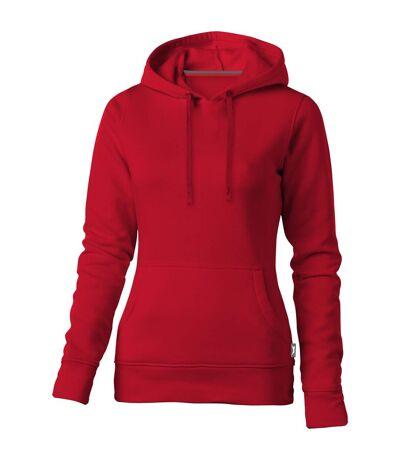 Slazenger Womens/Ladies Alley Hooded Sweater (Red) - UTPF1761