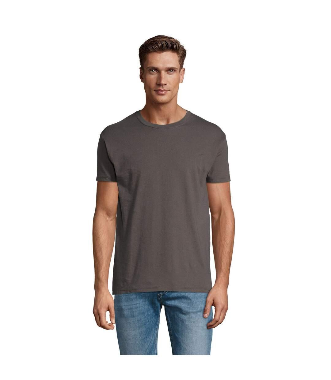 SOLS Mens Regent Short Sleeve T-Shirt (Dark Grey) - UTPC288