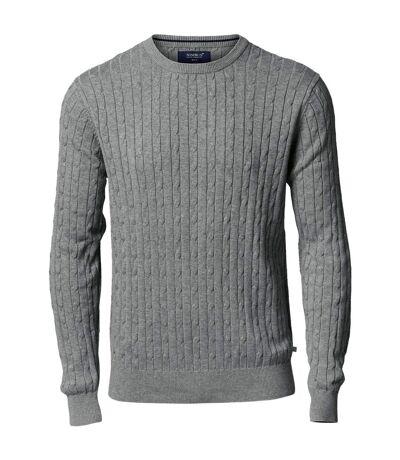 Nimbus Winston - Pull en tricot torsadé - Homme (Gris foncé) - UTRW5339