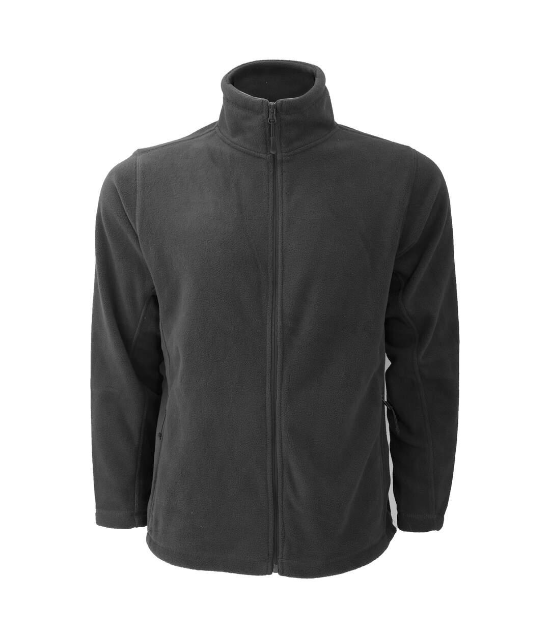 Russell Mens Full Zip Outdoor Fleece Jacket (Bottle Green) - UTBC575