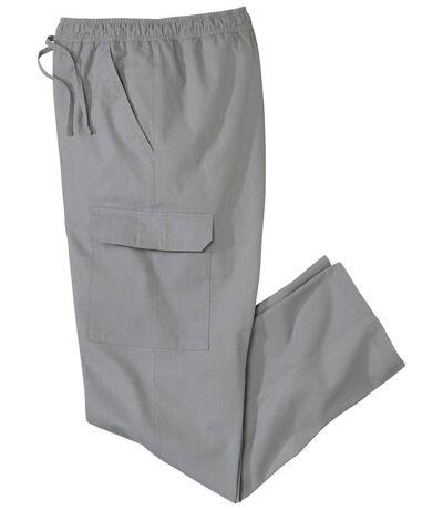 Men's Grey Cargo Pants