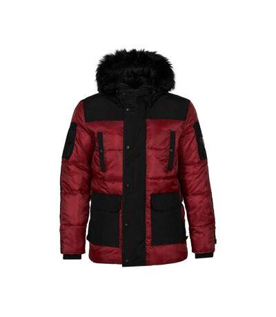 Parka Rouge Homme Hite Couture Nikador