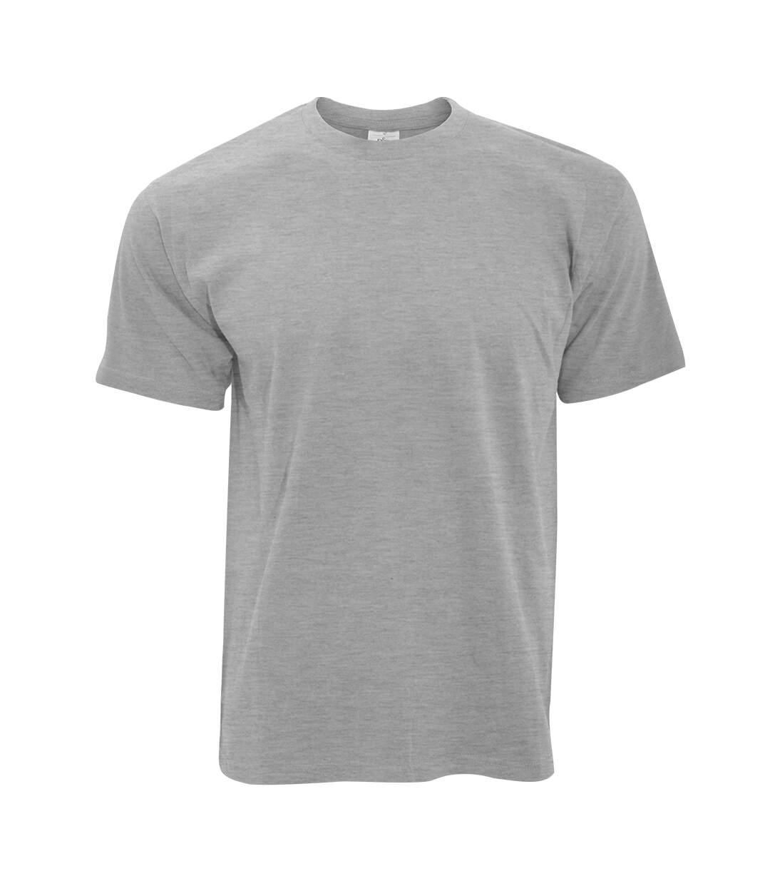B&C Exact 190 Mens Crew Neck T-Shirt / Mens Short Sleeve T-Shirt (Sport Grey) - UTBC125