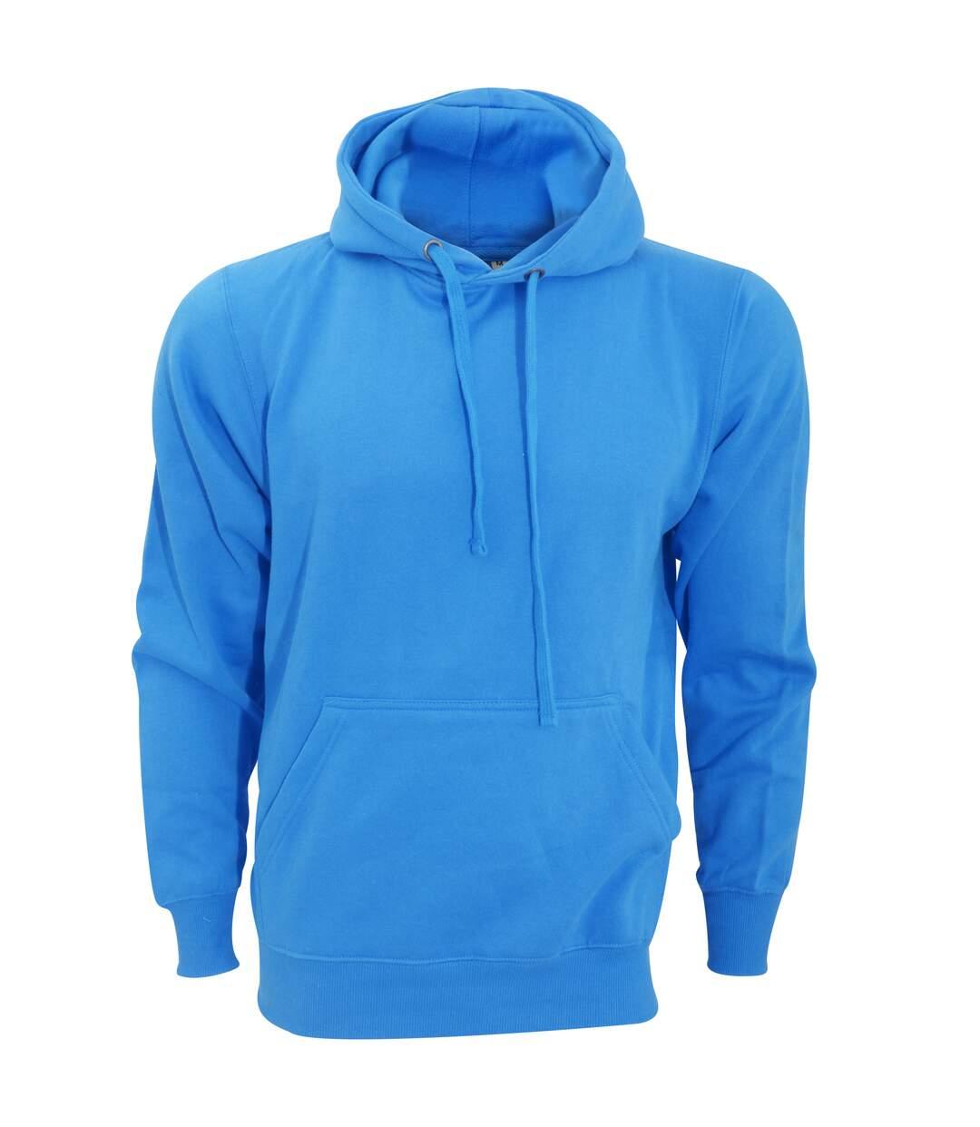 FDM Unisex Tagless Hooded Sweatshirt / Hoodie (Sapphire) - UTBC2031