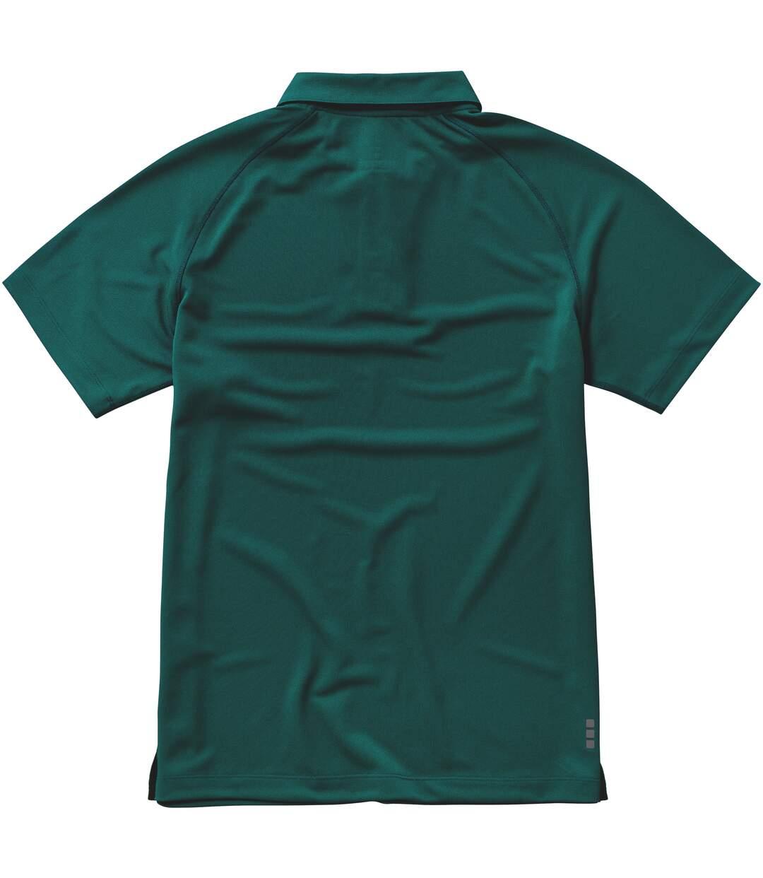 Elevate Mens Ottawa Short Sleeve Polo (Forest Green) - UTPF1890