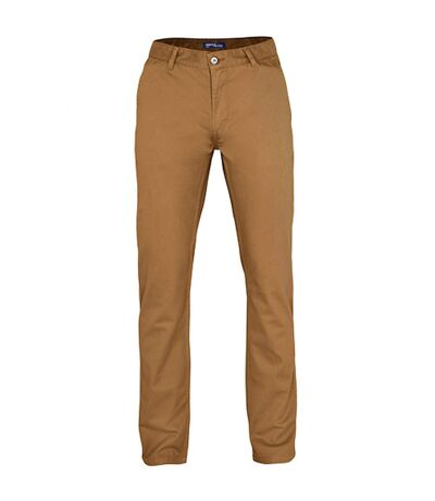Asquith & Fox Mens Classic Casual Chinos/Trousers (Camel) - UTRW3473