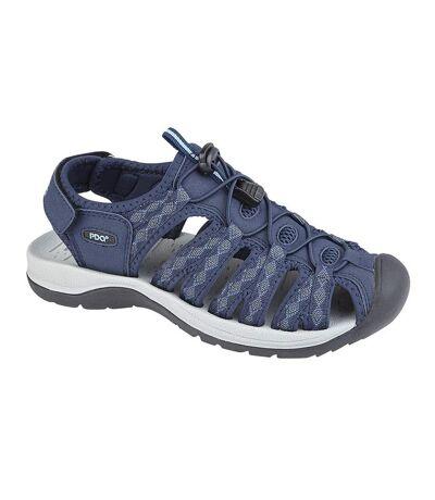 PDQ Womens/Ladies Superlight Floral Print Sports Sandals (Navy) - UTDF1420