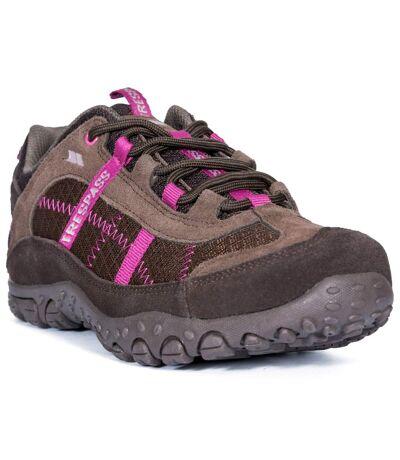 Trespass Womens/Ladies Fell Lightweight Walking Shoes (Coffee) - UTTP154