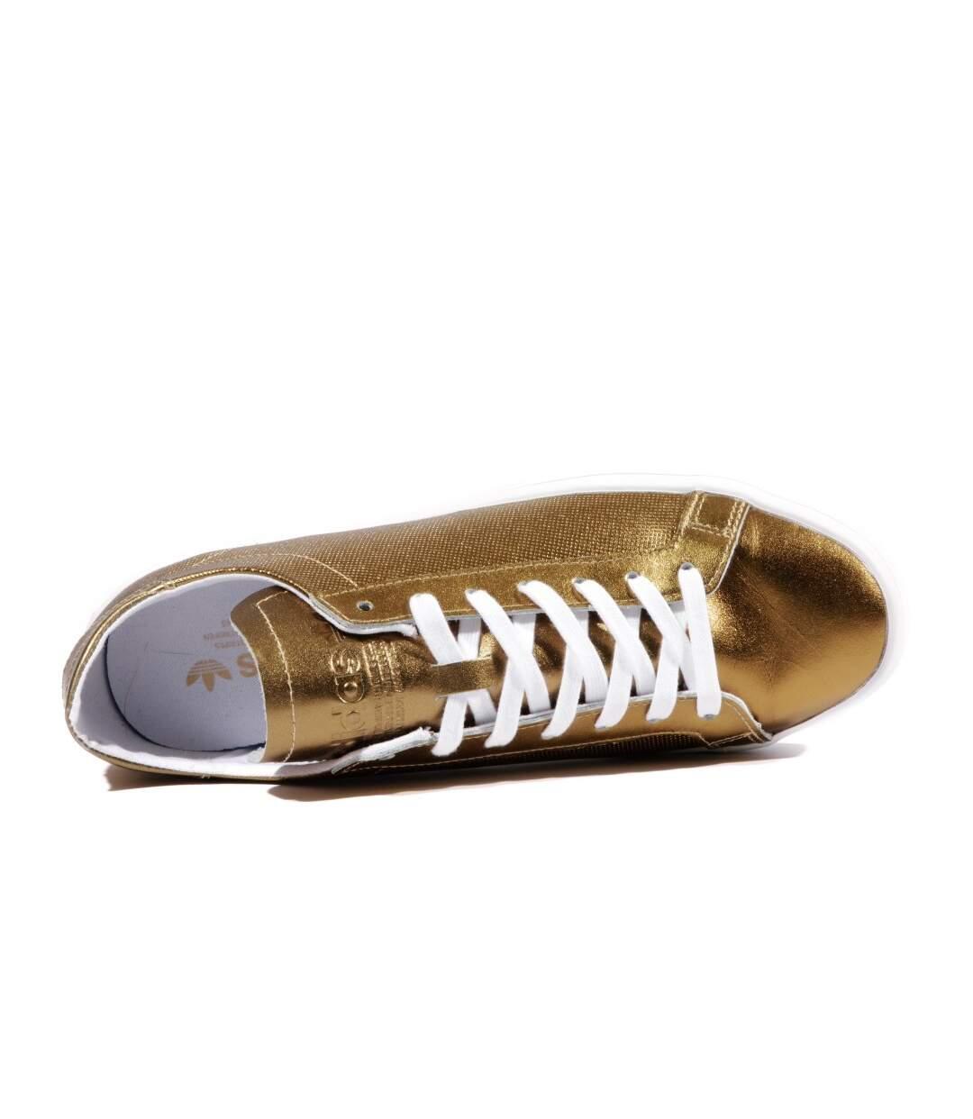 Courtvantage Femme Chaussures Or Brillant Adidas