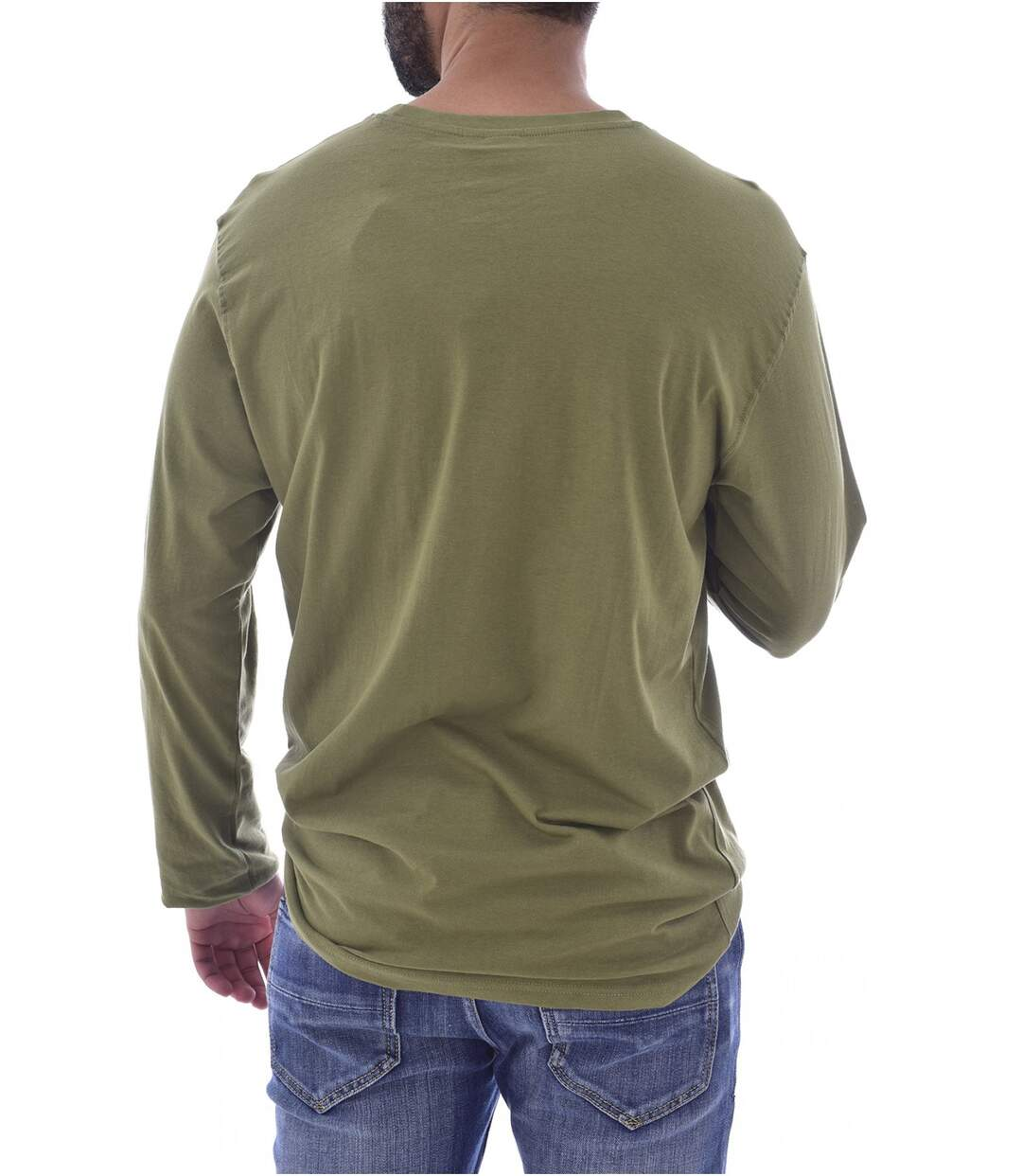 Tee shirt coton à petit logo brodé  -  Sergio tacchini - Homme