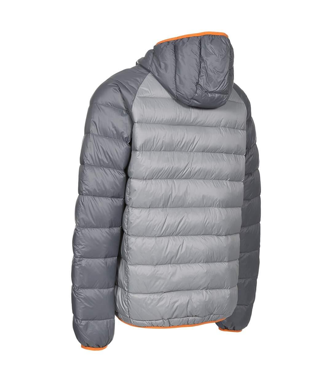 Trespass Mens Rusler Down Jacket (Storm Grey) - UTTP3777