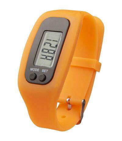 Bullet - Podomètre connecté GET-FIT (Orange) (25 x 2,7 x 1,5 cm) - UTPF2564