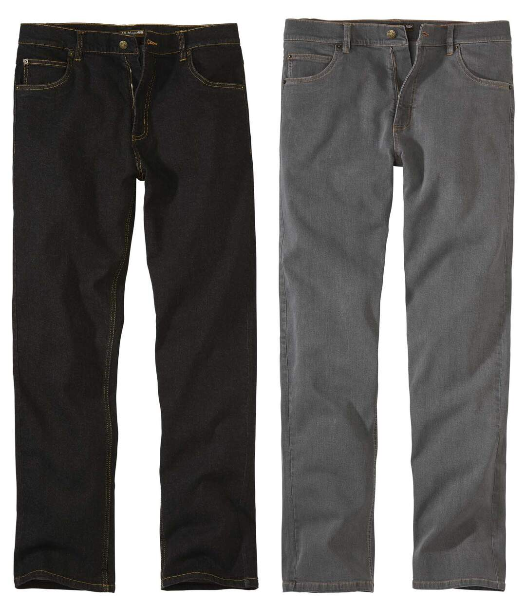Set van 2 regular stretch jeans