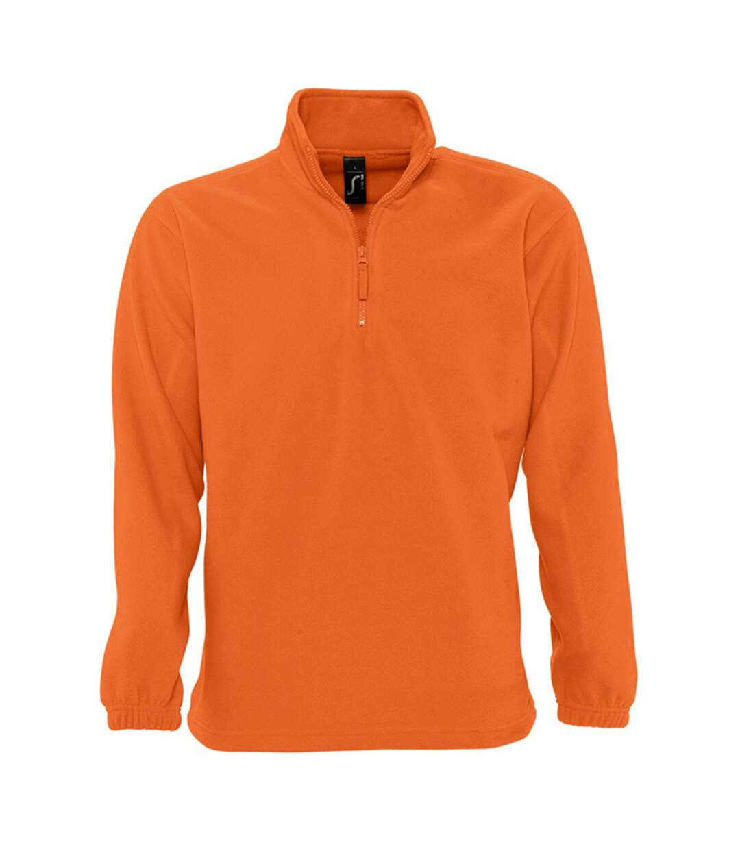 SOLS Ness Unisex Zip Neck Anti-Pill Fleece Top (Orange) - UTPC345