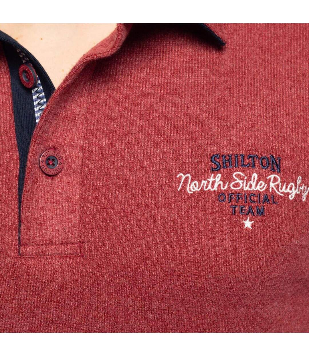 Polo rugby north side manches longues