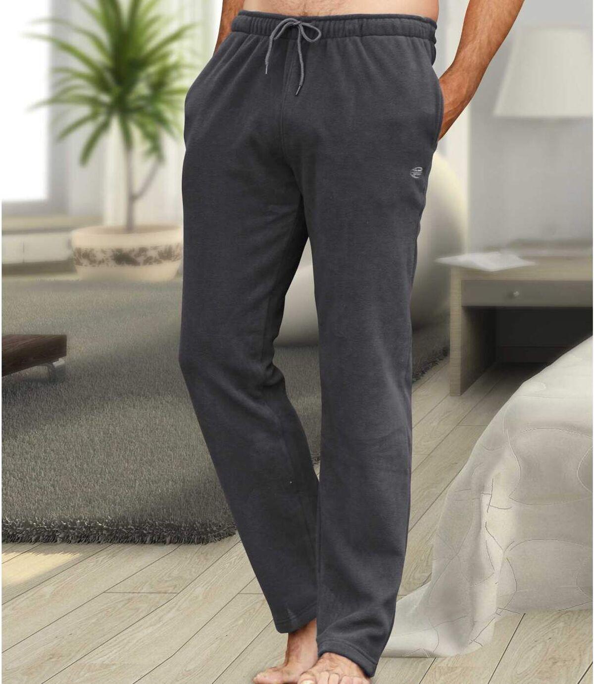 Volnočasové mikrofleecové kalhoty Atlas For Men