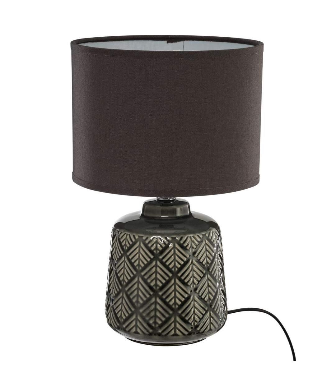 Atmosphera - Lampe pied en céramique ilou H 35 cm