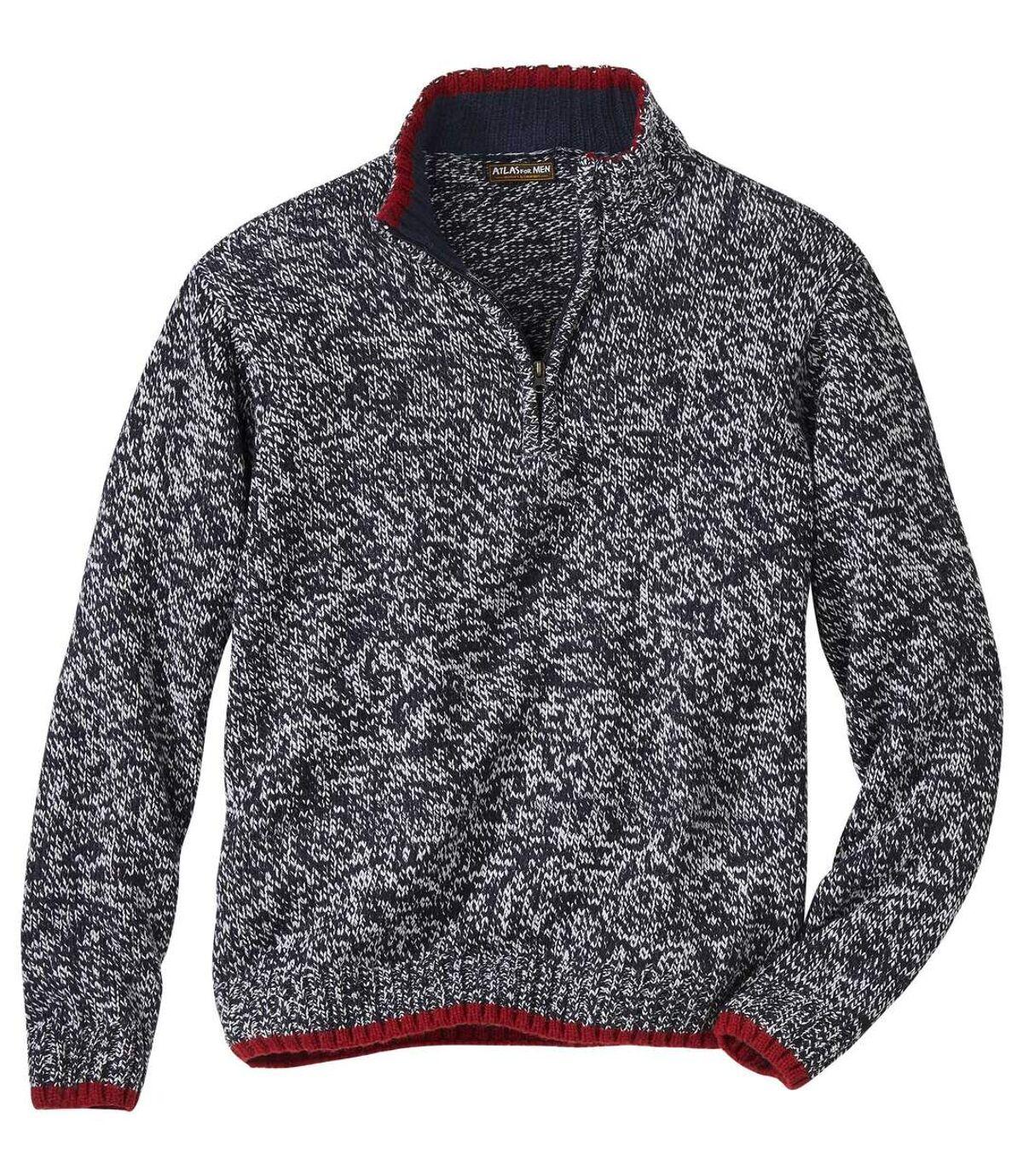 Melanżowy sweter Sportwear Atlas For Men