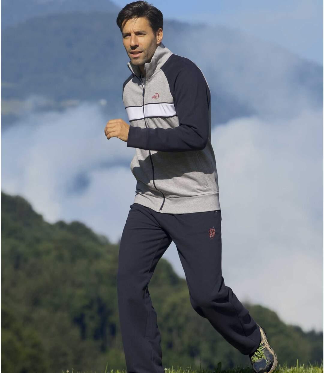 Moltonový jogging