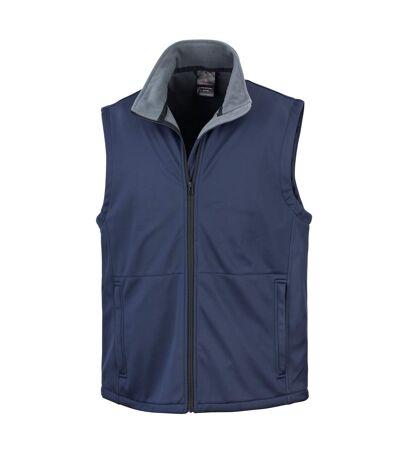 Result Mens Core Soft Shell Bodywarmer Jacket (Navy Blue) - UTBC907