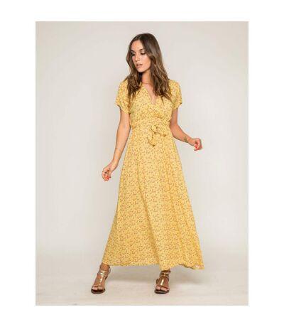 Robe longue imprimée IBERTY - Dona X Lisa