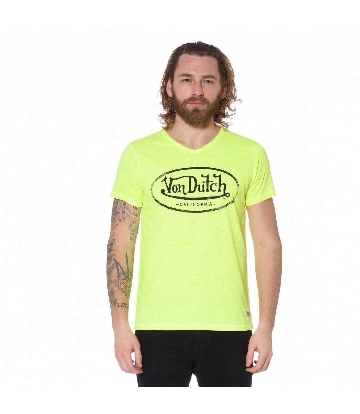 T-Shirt Col en V homme Ron