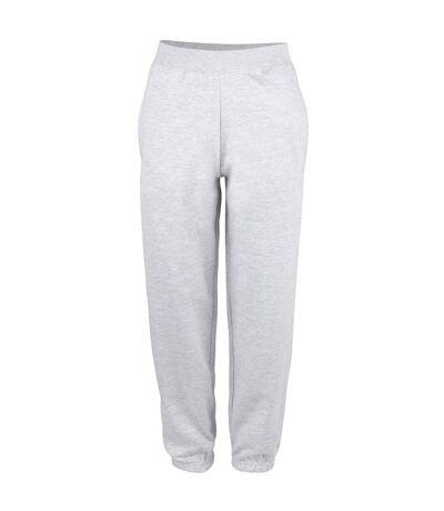 Awdis College Cuffed Sweatpants / Jogging Bottoms (Heather Grey) - UTRW187