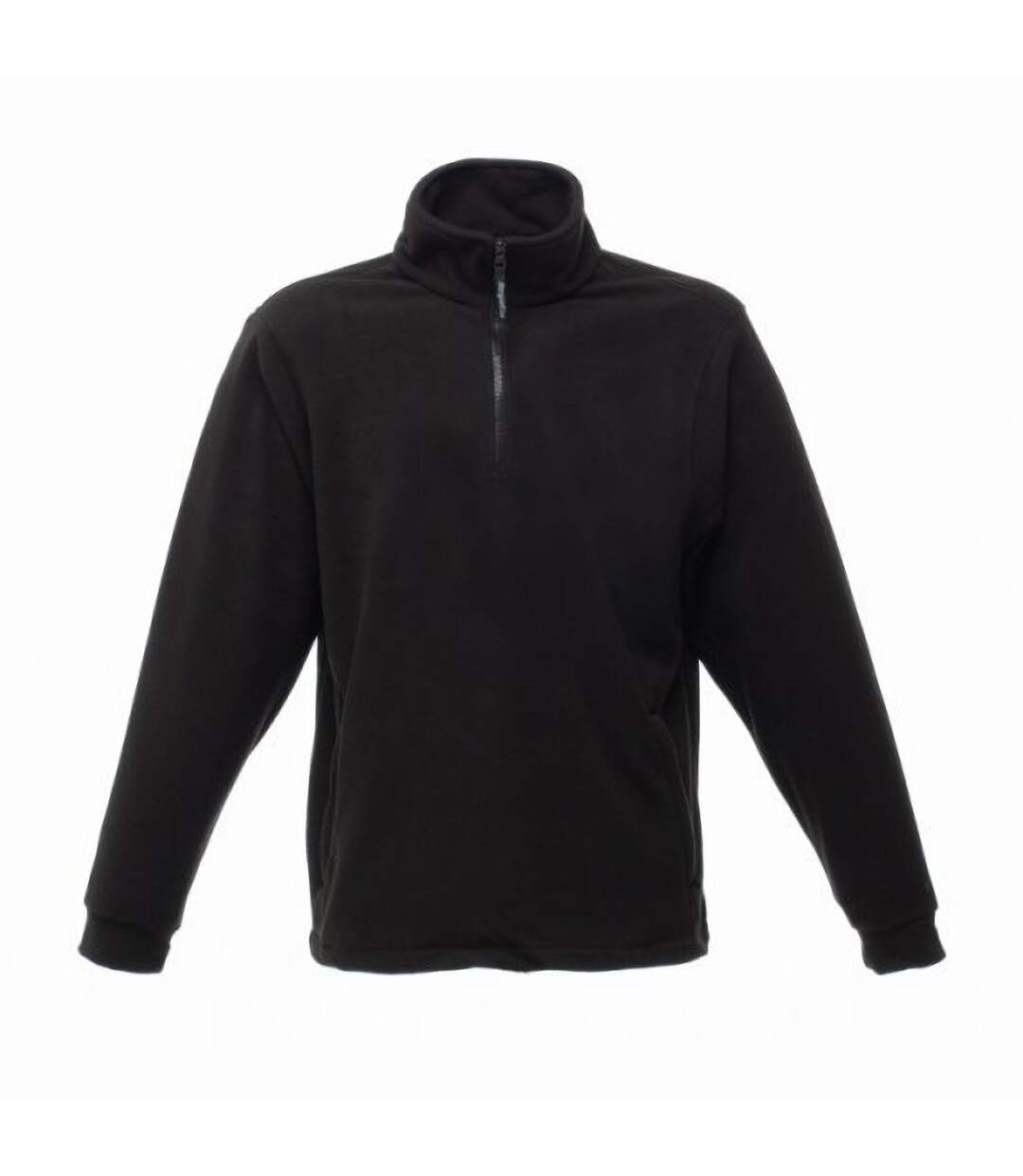 Regatta Thor Overhead Half Zip Anti-Pill Fleece Top (170 GSM) (Black) - UTBC810