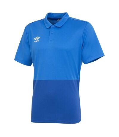 Umbro Mens Polyester Polo Shirt (Royal Blue/French Blue) - UTGD100