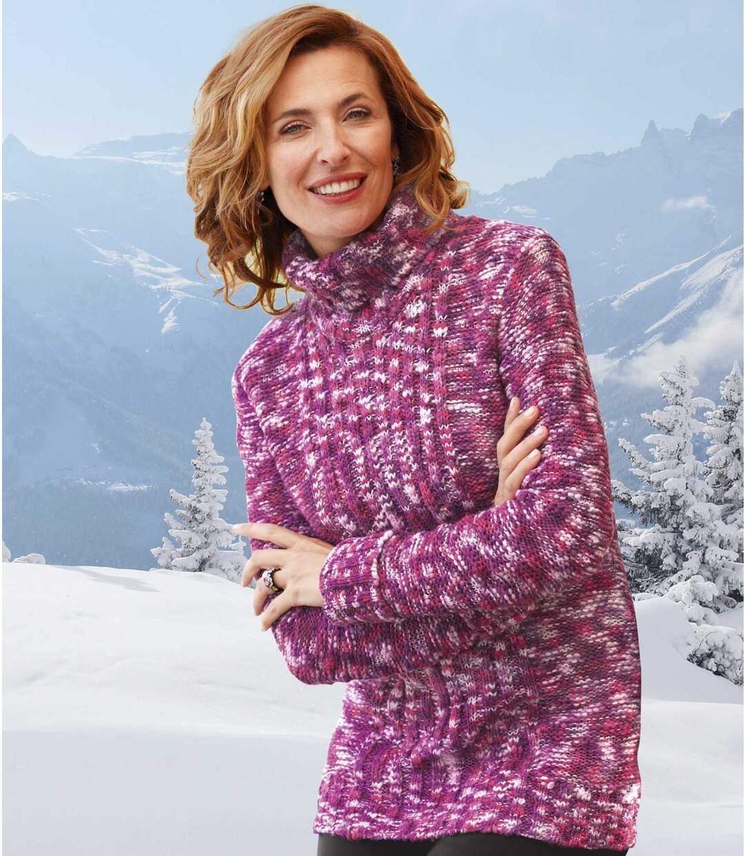 Hřejivý pletený svetr Atlas For Men