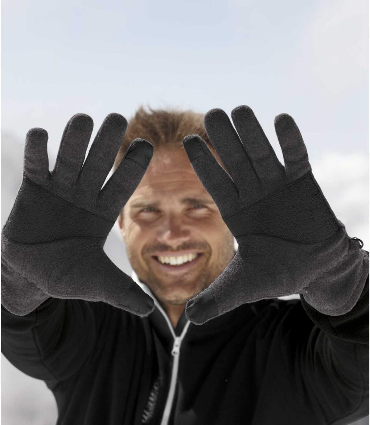 Dotykowe rękawiczki z polaru Atlas For Men