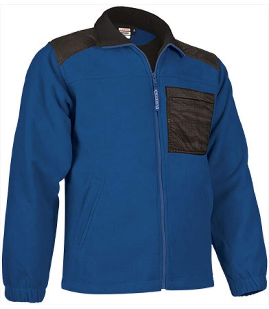 Veste polaire zippée - Homme - REF NEVADA - bleu roi