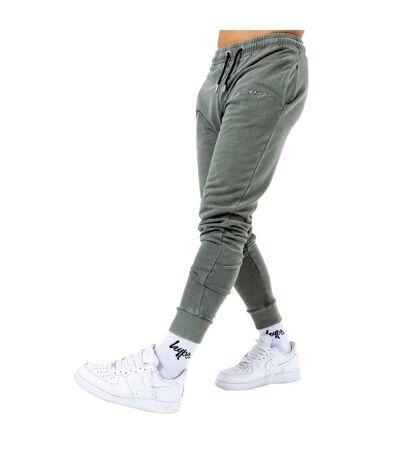 Hype Pantalon de jogging délavé à l'acide pour hommes (Gris) - UTHY5156