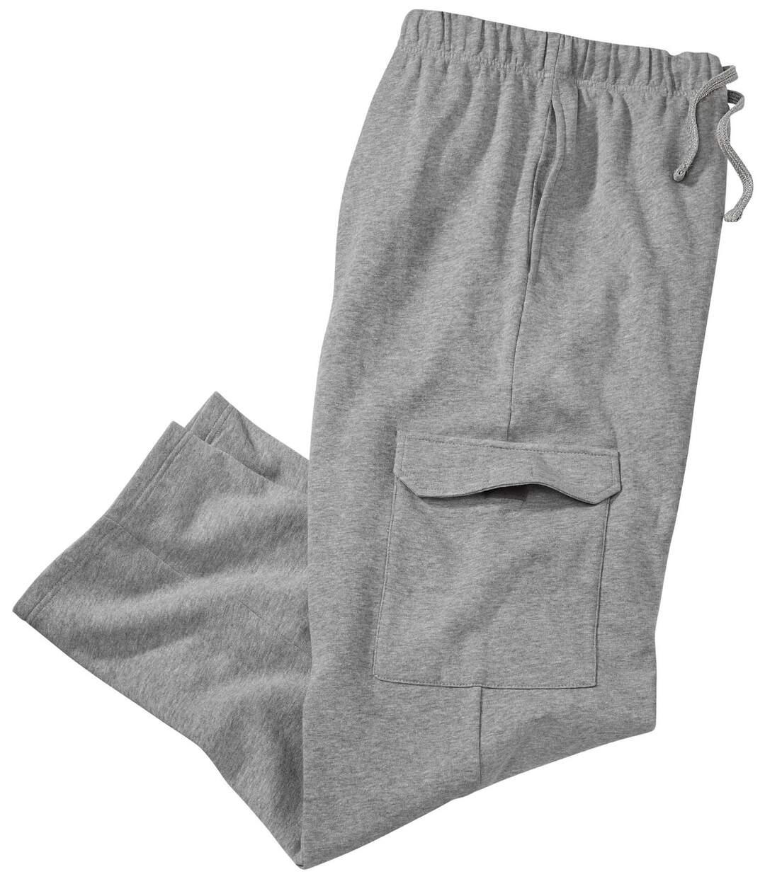Wygodne spodnie z moltonu