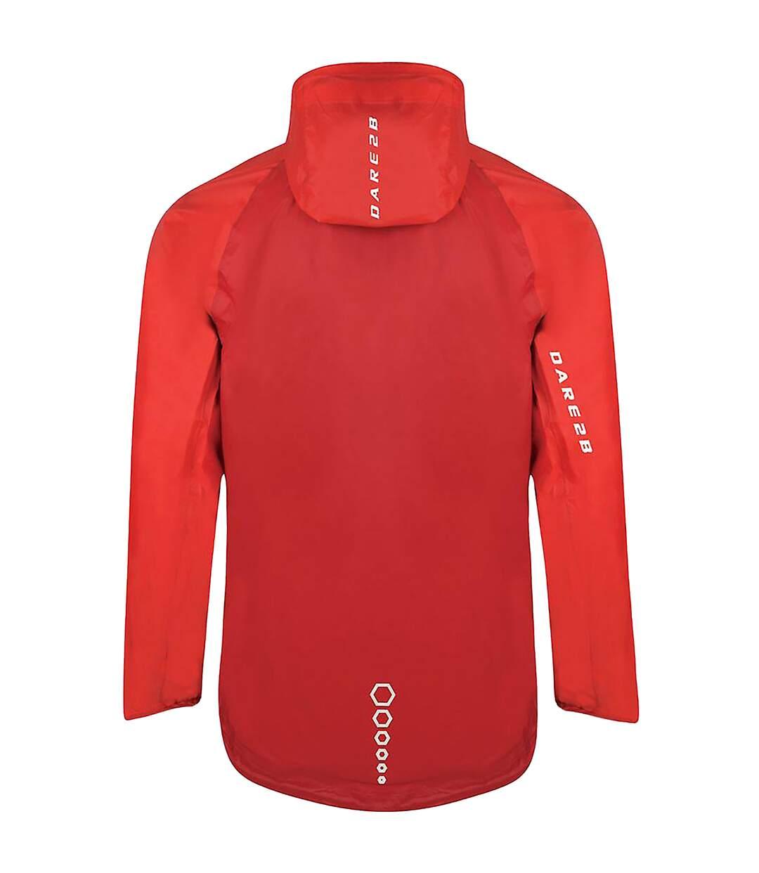 Dare 2B Mens Precept Jacket (Dark Red/Danger Red) - UTRG3360