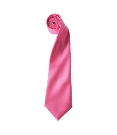Premier - Cravate unie - Homme (Violet) (Taille unique) - UTRW1152