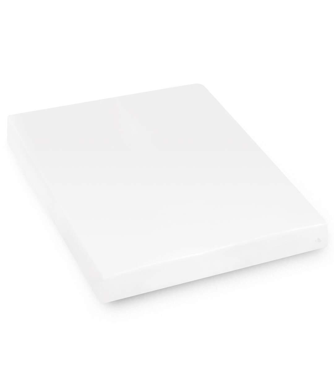 Protège matelas imperméable 180x220 cm bonnet 23cm ARNON molleton 100% coton contrecollé polyuréthane