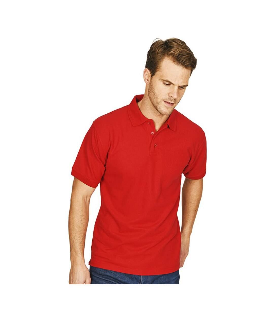 Absolute Apparel Mens Precision Polo (Red) - UTAB105