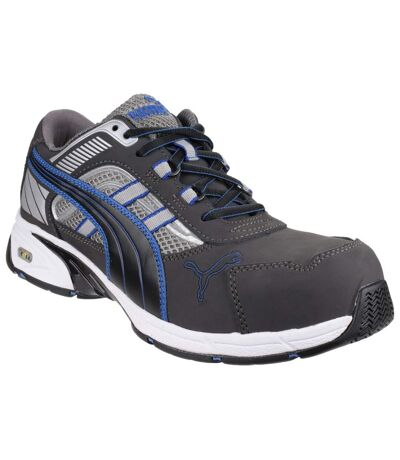 Puma Safety Mens Pace Blue Lace Up Safety Shoes (Blue) - UTFS3995