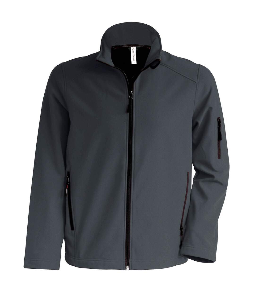 Kariban Mens Contemporary Softshell 3 Layer Performance Jacket (Titanium) - UTRW715