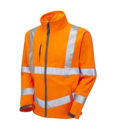 Yoko Mens Hi-Vis Sofshell Jacket (Pack of 2) (Hi-Vis Yellow) - UTBC4393