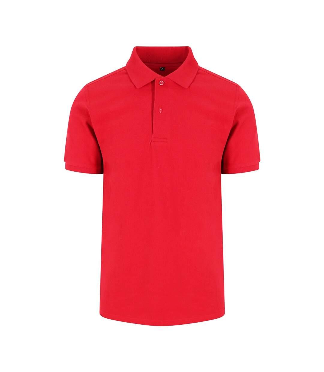 AWDis Just Polos Mens Stretch Pique Polo Shirt (Red) - UTPC3588